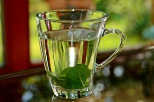 mätový čaj