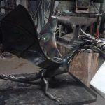kovaný drak