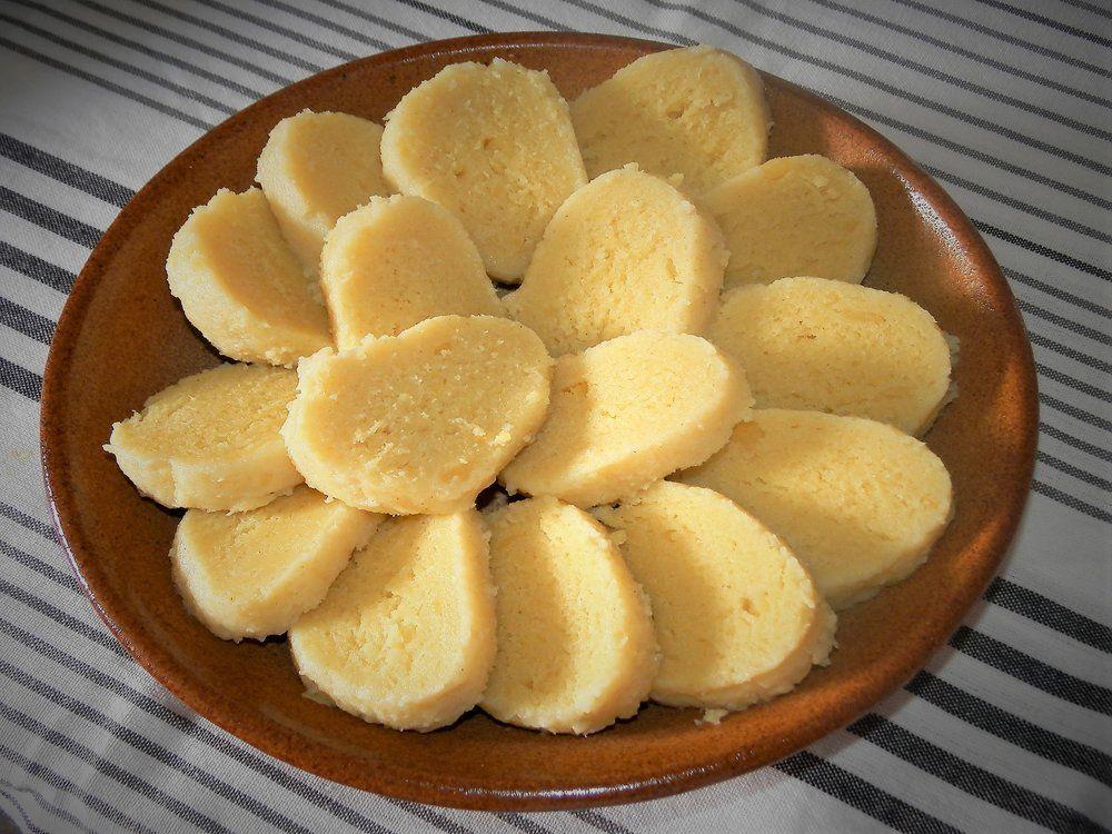 Zemiakové knedlíky na tanieri