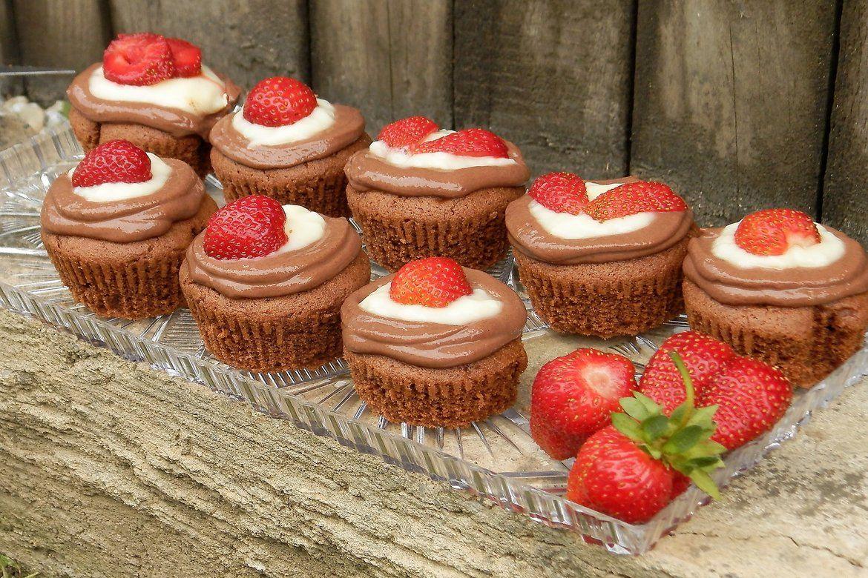 Kakaové cupcakes