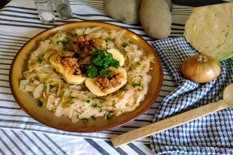 Plnené zemikové knedlíky