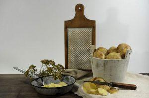 zemiakové halušky