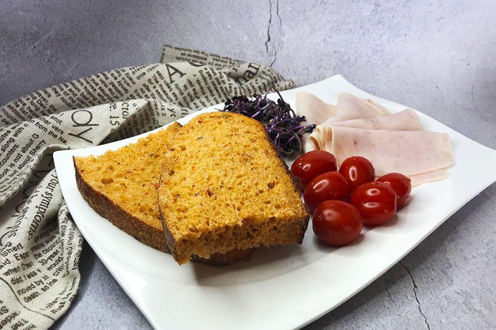 paradajkový chlieb z kvásku