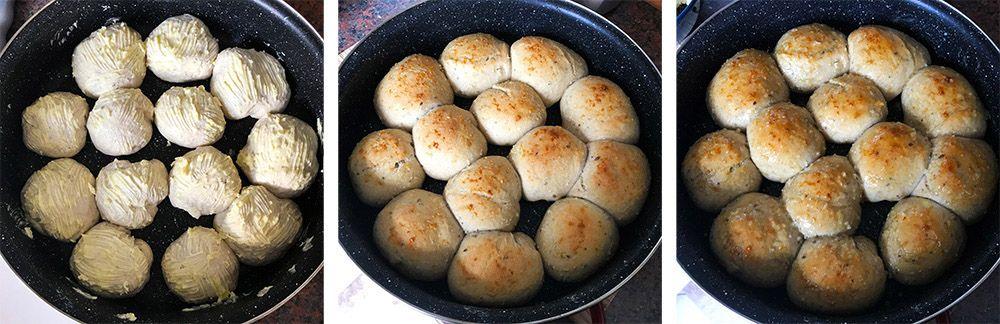 Trhací žemľový chlieb