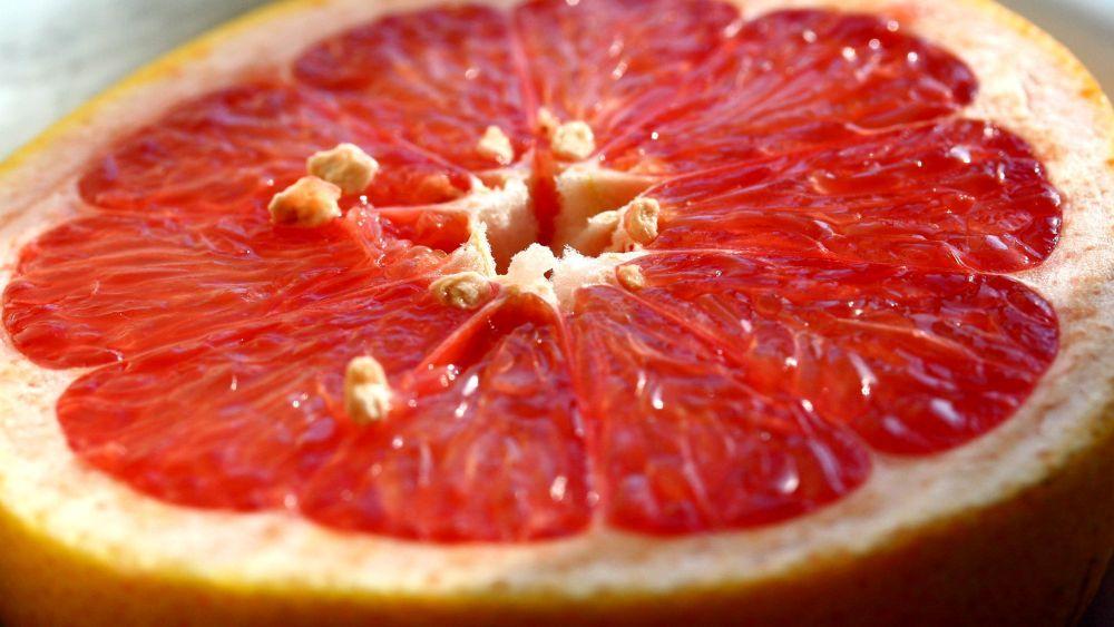 grapefruitové jadrá
